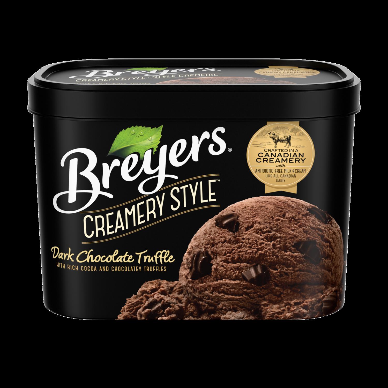 Astounding Chocolate Truffle Ice Cream Breyers Creamery Style Funny Birthday Cards Online Alyptdamsfinfo