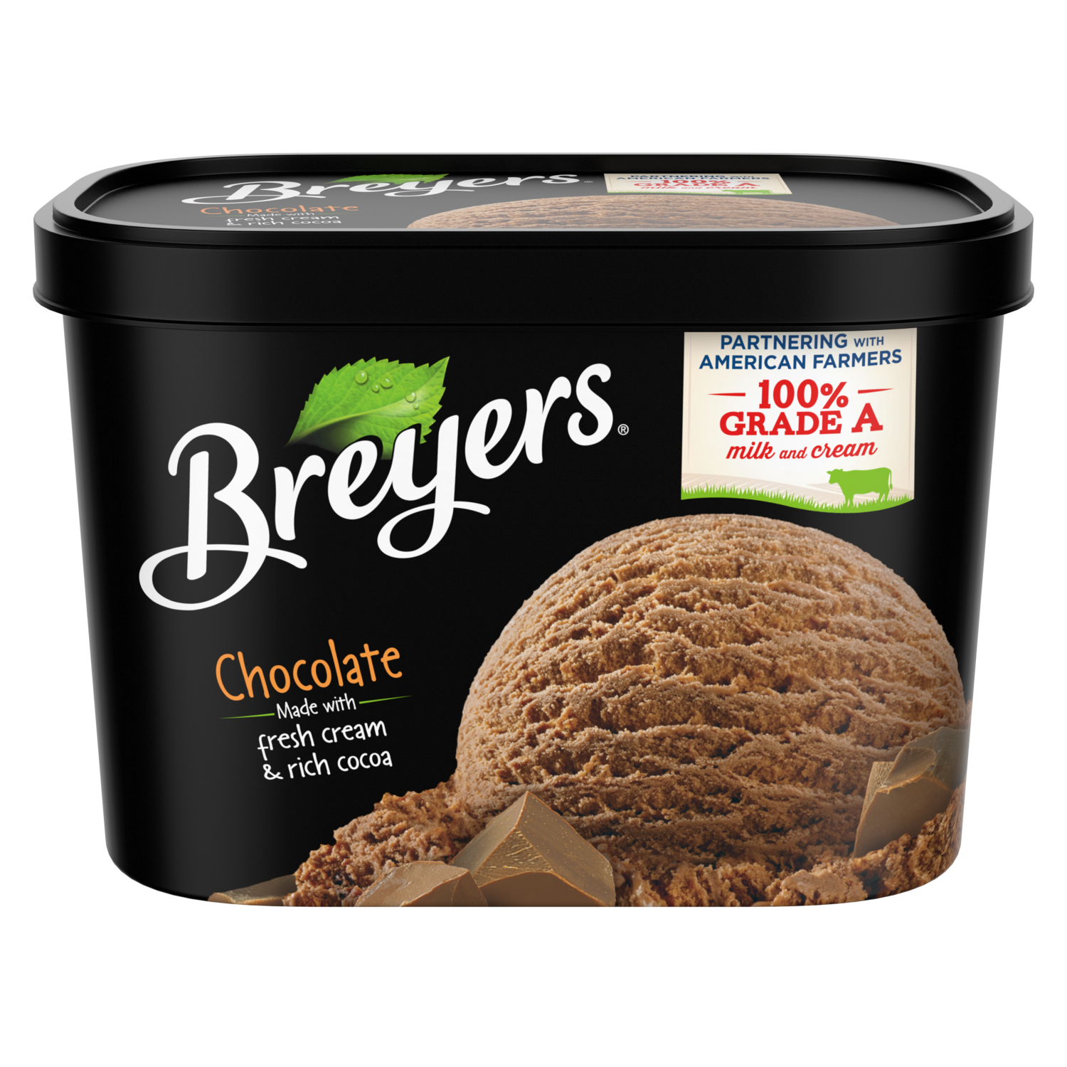 Chocolate Ice Cream Breyers