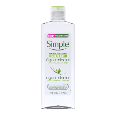 simple Agua micelar Micelar 200 ML