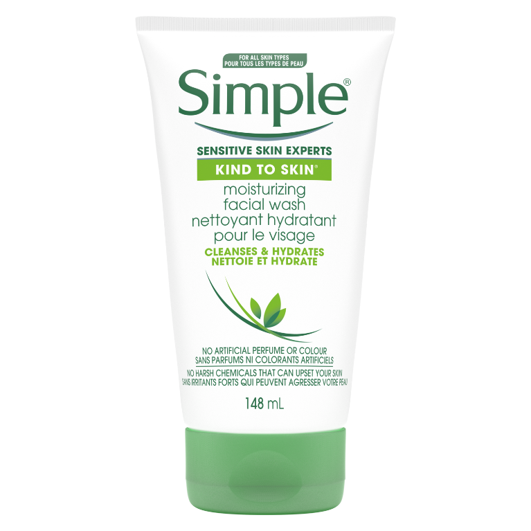 Nettoyant visage hydratant Simple Kind to Skin