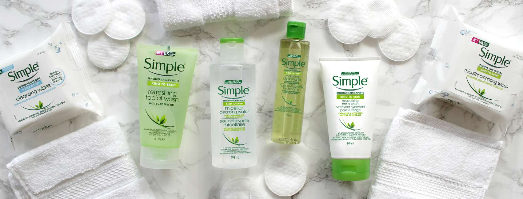 An image of Simple Facial cleansers