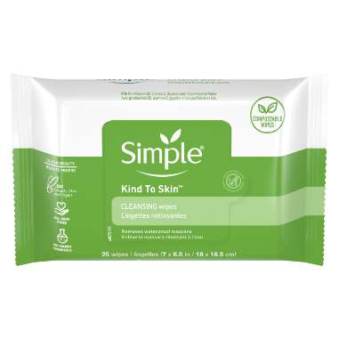 Simple Kind to Skin Cleansing Wipes  - Compostable Wipes