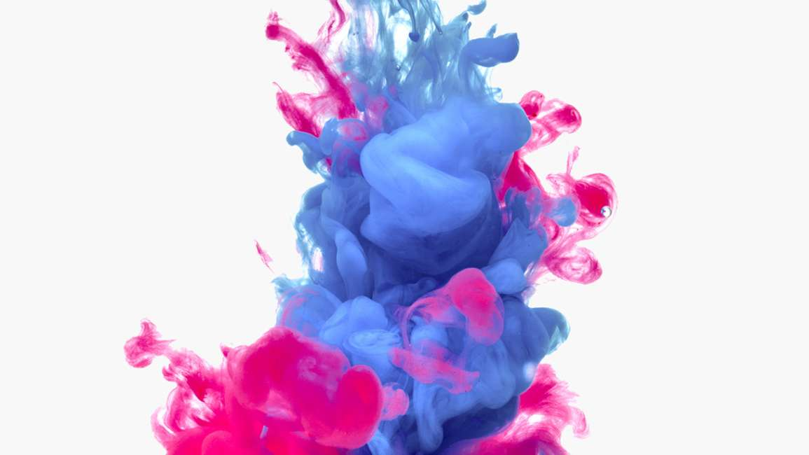 Colourful splash illustrating artificial colours and dyes