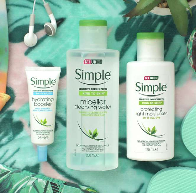 Simple Say hello to your summer skincare routine 700x686