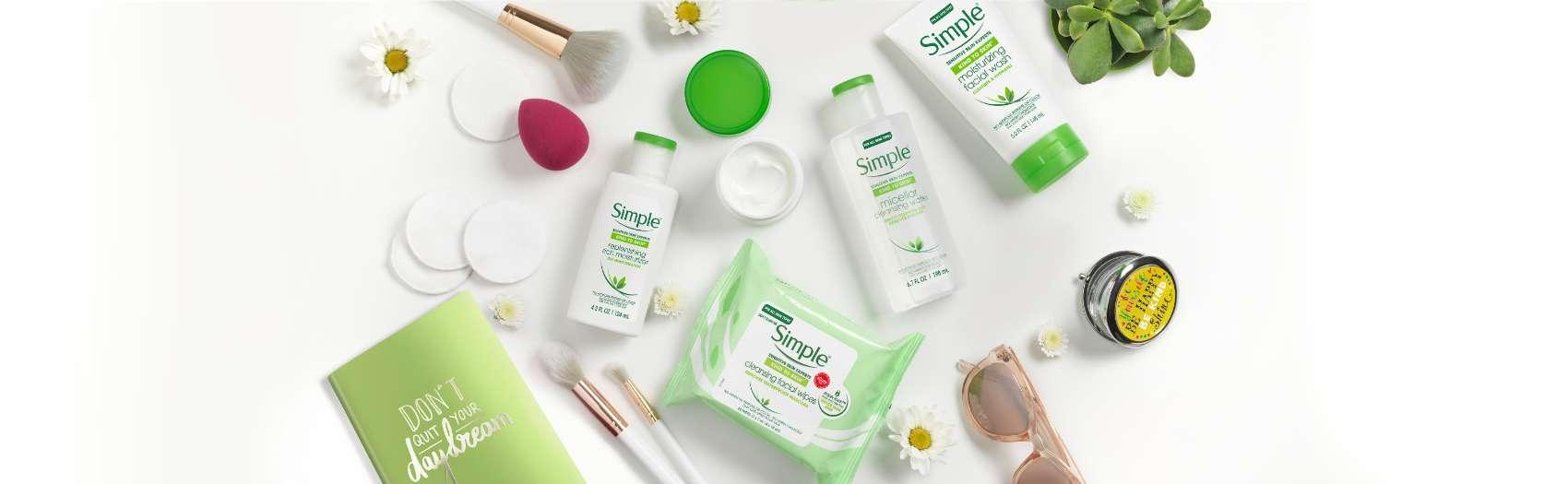 كيف ترطبين بشرتكِ   Simple® Skincare أرابيا