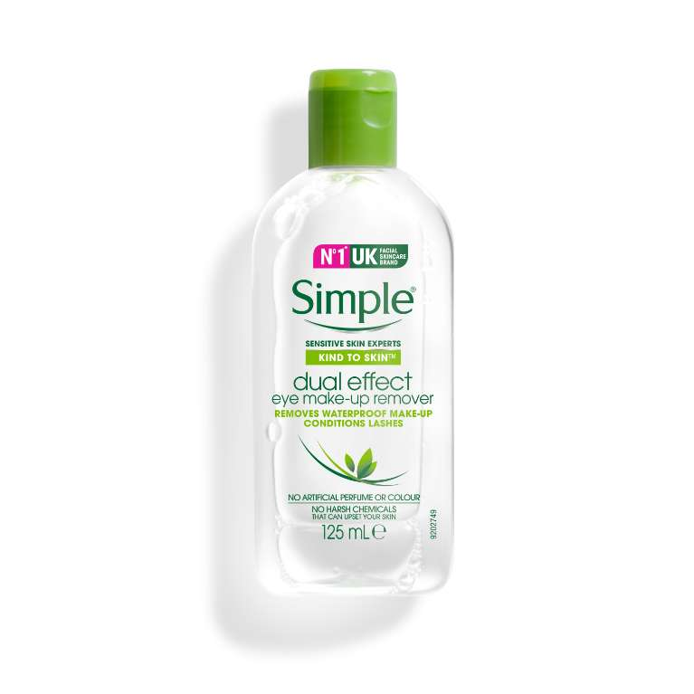 Simple Kind to Skin Dual-effect Eye Make-up Remover