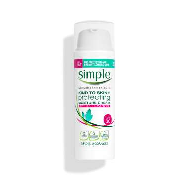 Simple Kind to Skin Protecting Moisturiser Cream with SPF 30