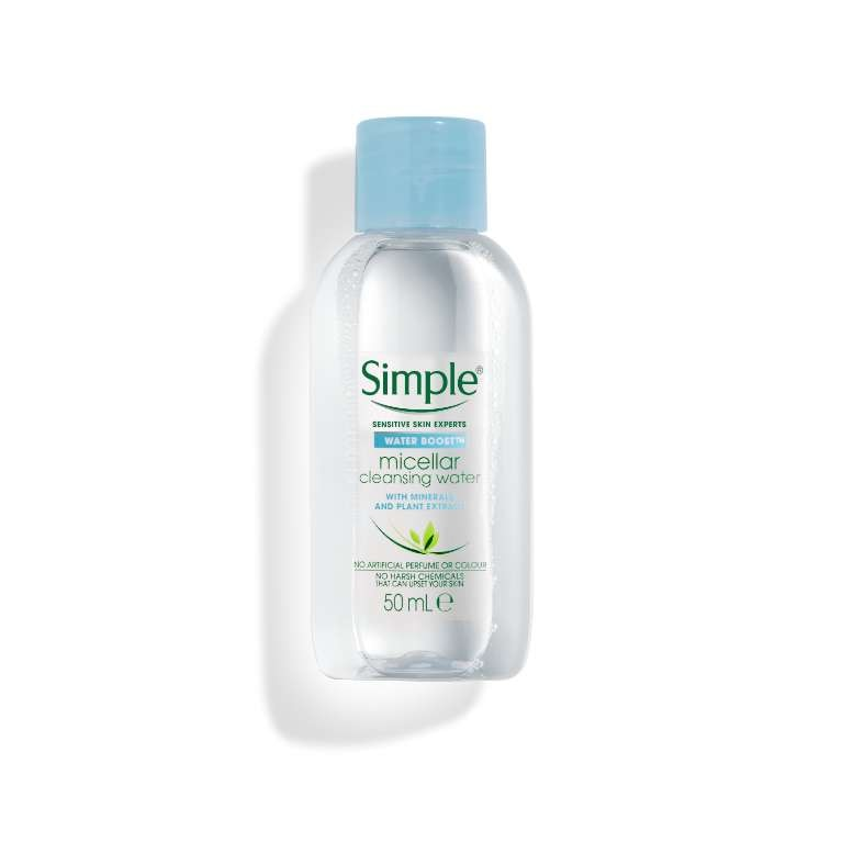 Simple Water Boost Cleansing Micellar Water