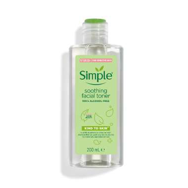 Nước hoa hồng Simple Smoothing Facial Toner