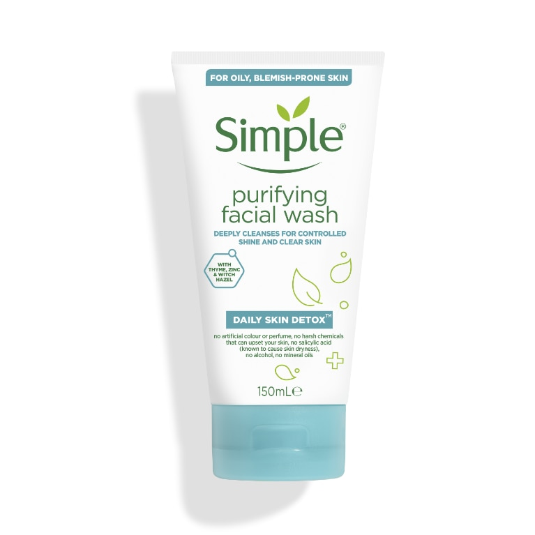 Daily Skin Detox Simple Purifying Face Wash