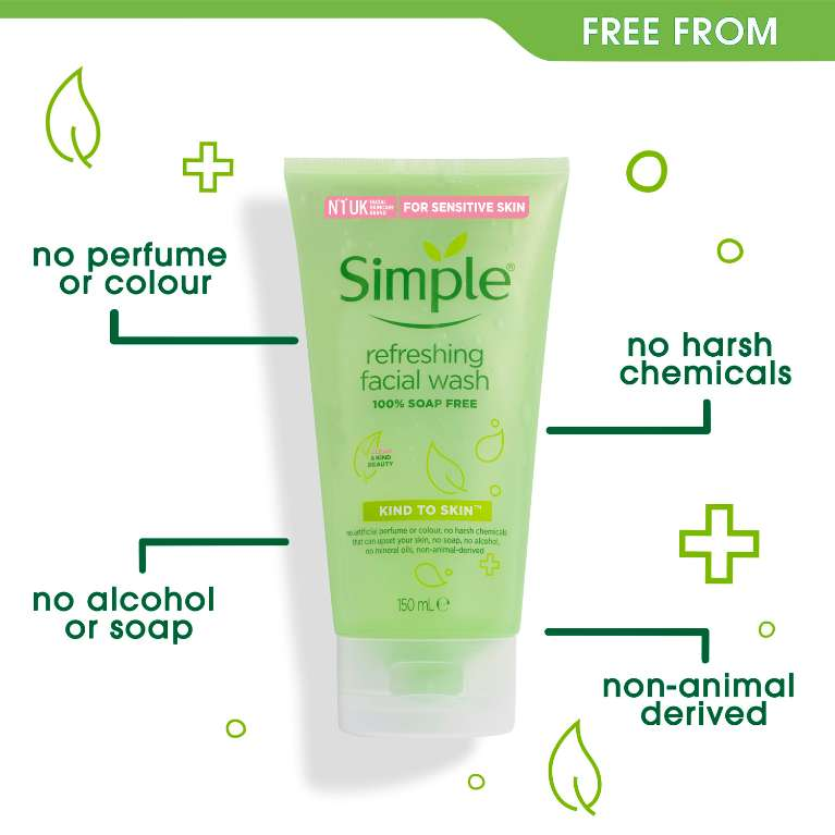 Sữa rửa mặt  Simple Refreshing Facial Wash