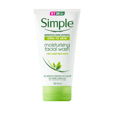Simple Kind to Skin Moisturising Face Wash
