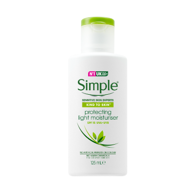 Simple Kind to Skin Protecting Light Moisturiser with SPF 15