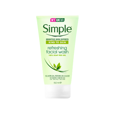 Simple Kind to Skin Refreshing Facial Gel Wash