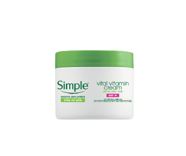 Simple® Kind to Skin Vital Vitamin Day Face Cream - SPF 15