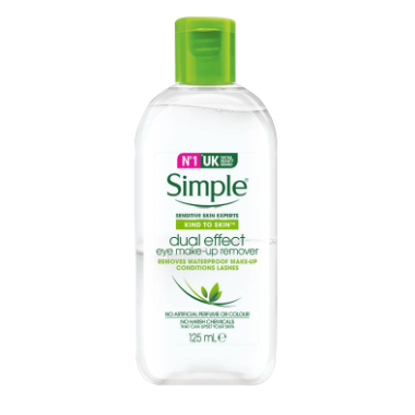 Simple® Dual-effect Eye Make-up Remover