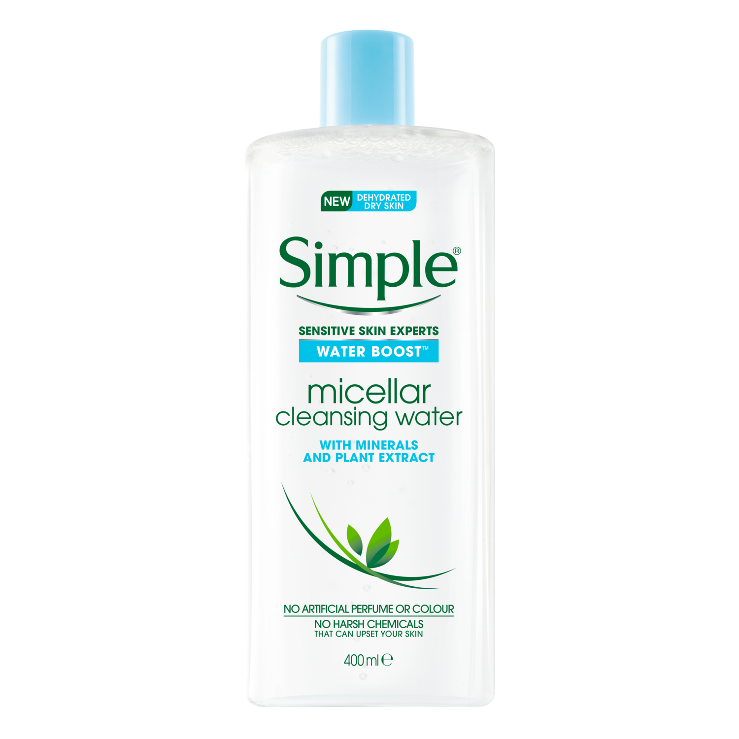 Simple PW LIQUIDS Hydrating Micellar Water 400 ML