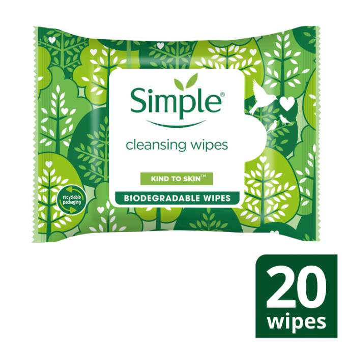 JPEG - Simple KTS Biodegradable Cleansing Wipes