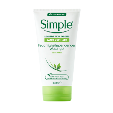 Simple Face Wash 150Ml Moisturising