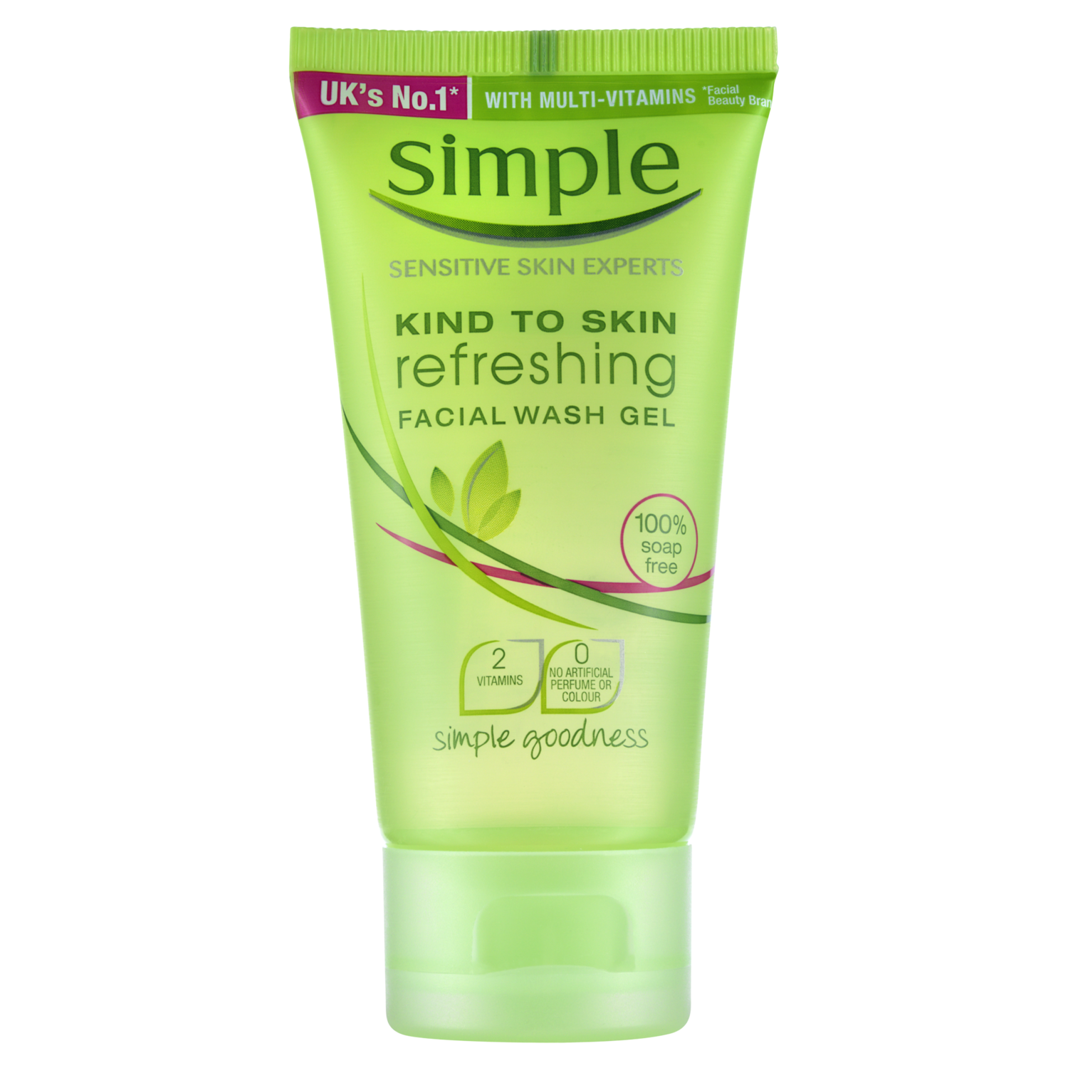 simple face wash refreshing wash simple 174 skincare 29721