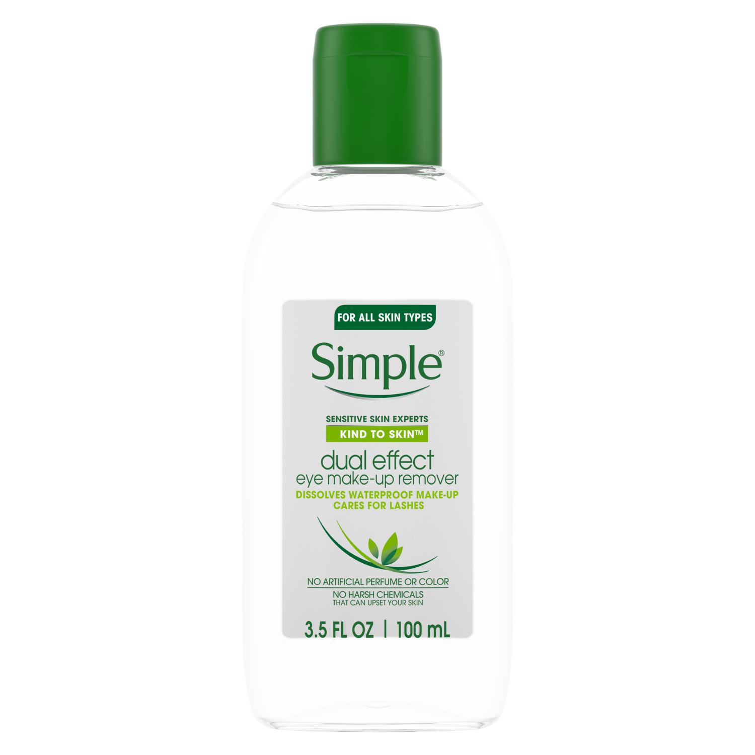 Kind To Skin Dual Effect Eye Make Up Remover Simple