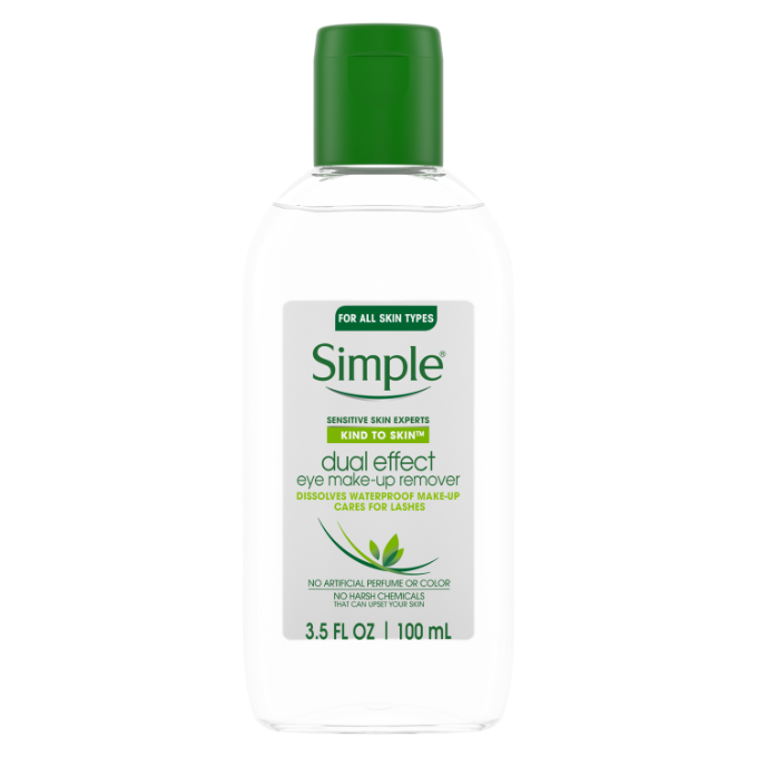 Simple Kind to Skin Dual Effect Eye Make-up Remover