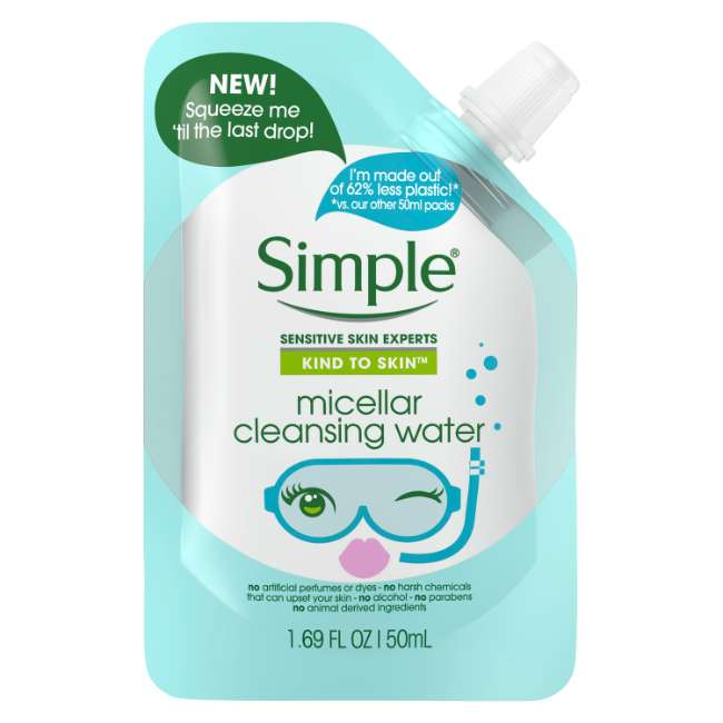 Simple Kind to Skin Mini Micellar Cleansing Water