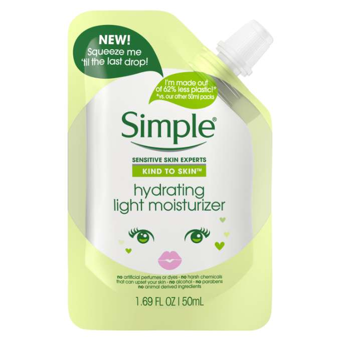 Simple Face Wash Fresh Clean Hydrating Moisture 1.69 FO