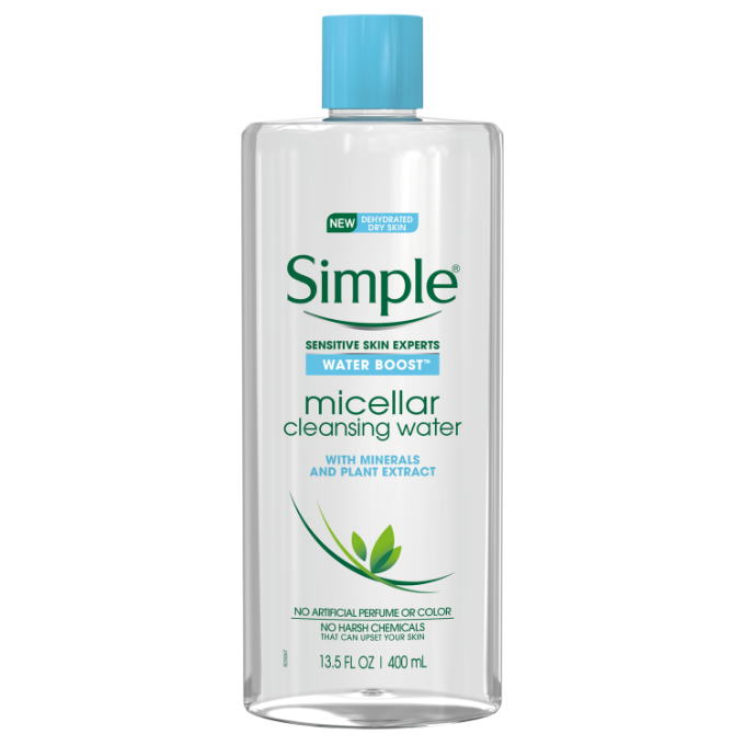 Simple Water Boost Micellar Cleansing Water